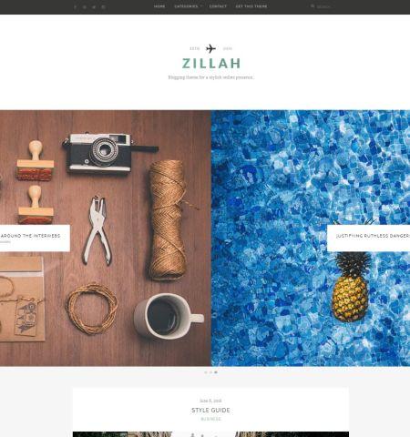 Veja esse elegante tema para blogueiros que procuram uma presença on-line e simples