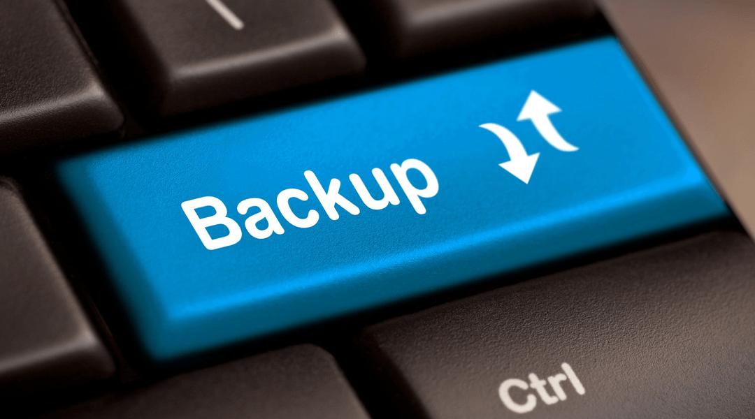 Segurança: A importância do backup